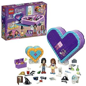 LEGO Friends - Pack de la Amistad: caja corazón, divertido set de construcción coleccionable para guardar todas tus cosas (41359): Amazon.es: Juguetes y ...