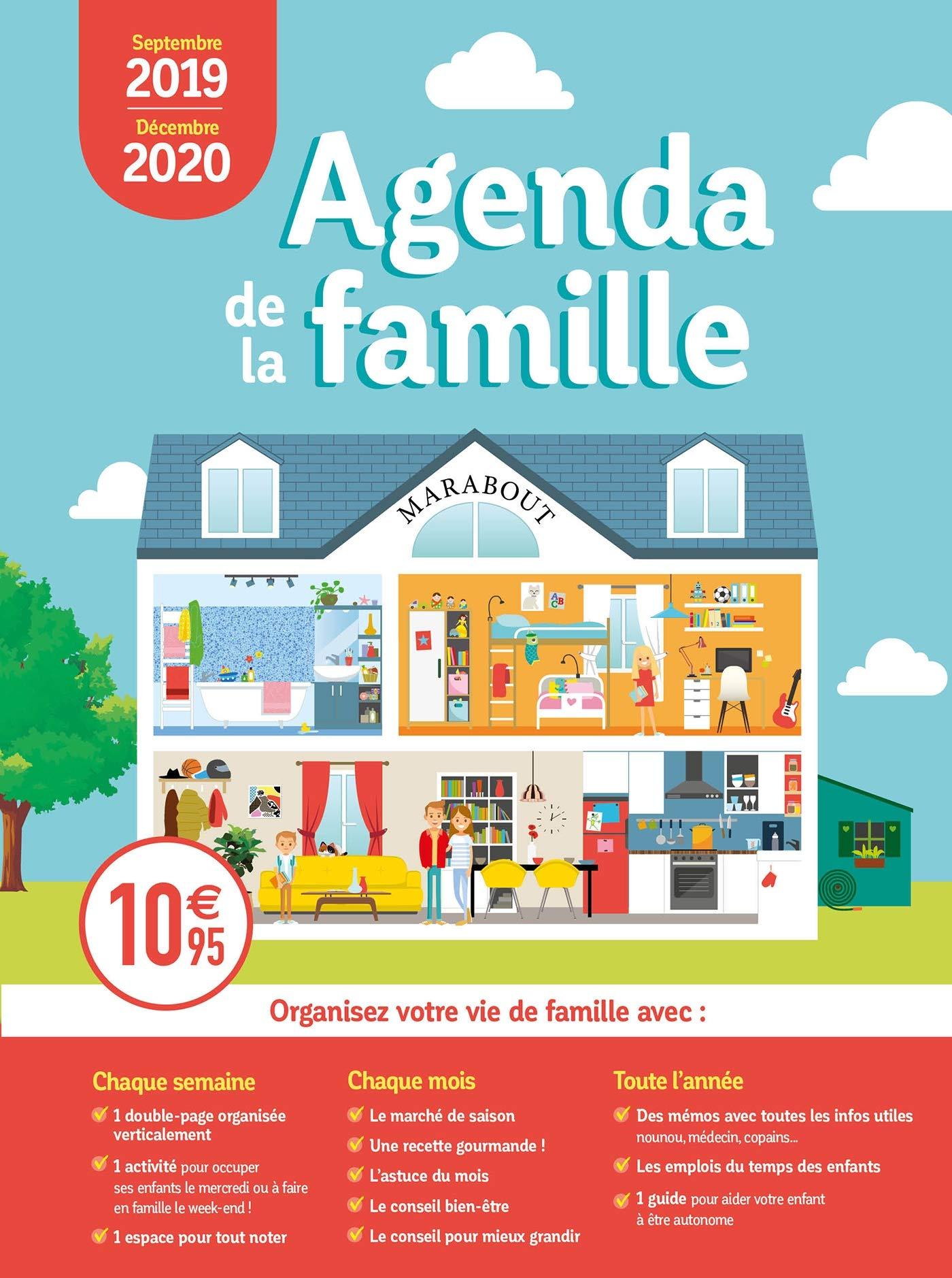 Mini Agenda de la famille 2019-2020 (Vie Quotidienne ...
