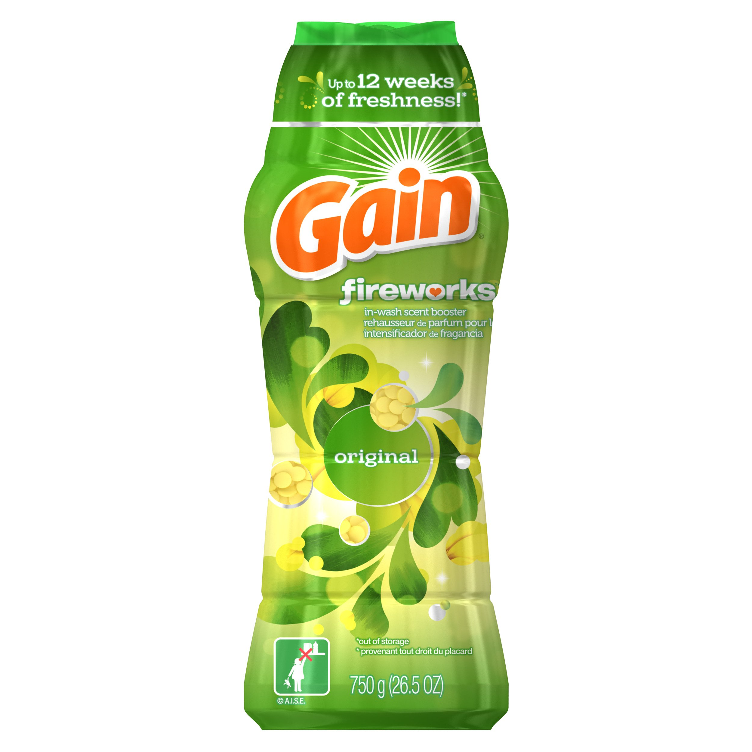 Gain Fireworks in-Wash Scent Booster by Gain