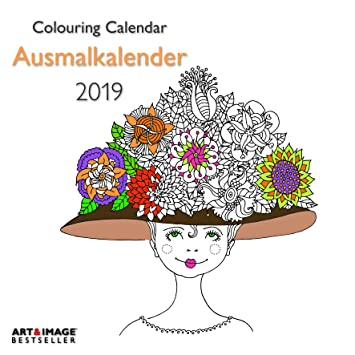 Calendario 2019 A para colorear con póster - animales ...