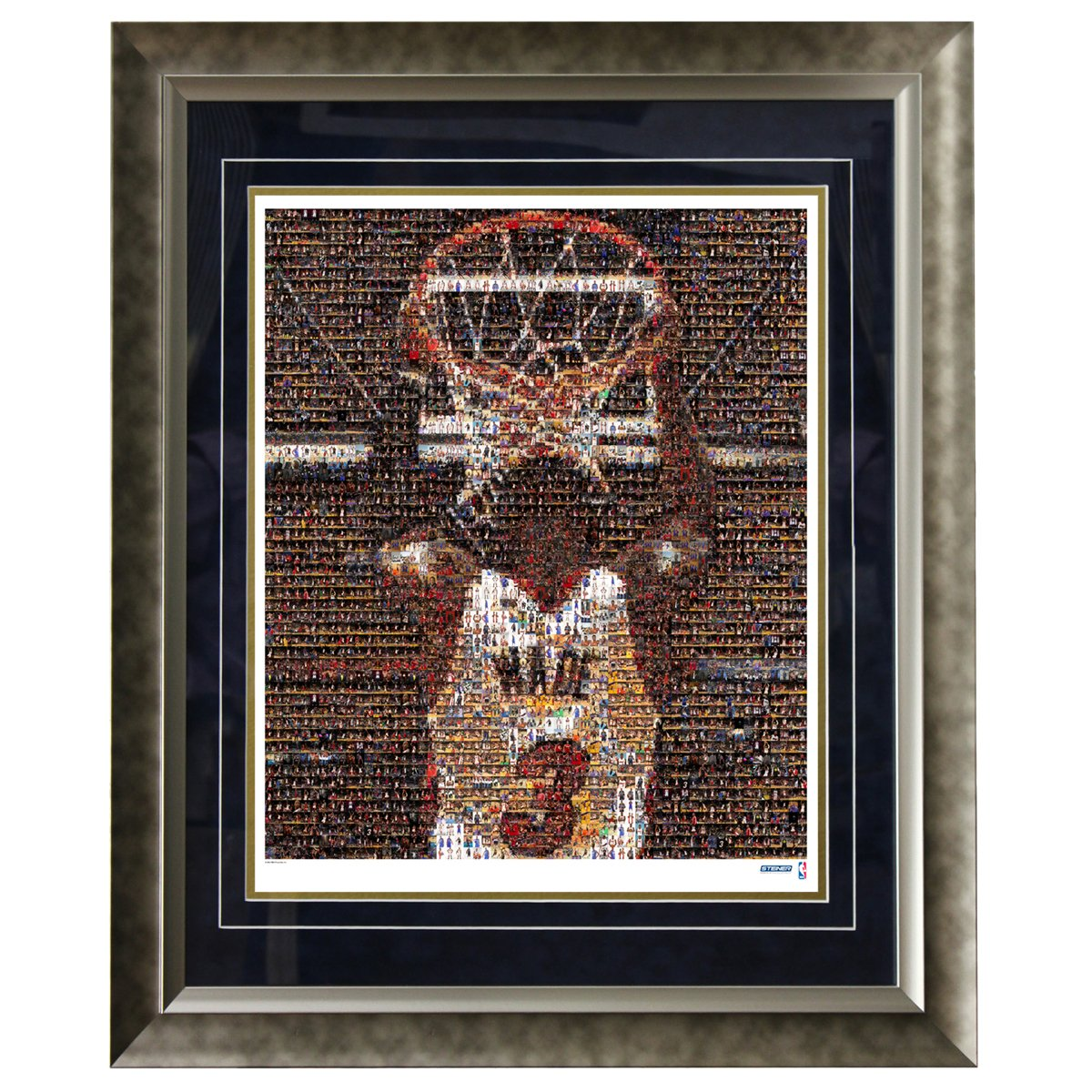 NBA Miami Heat Dwyane Wade Framed 16x20 Mosaic Photo