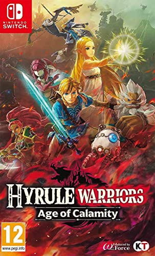 Hyrule Warriors Age Of Calamity Nintendo Switch Game Amazon Co Uk Pc Video Games