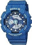 Casio Baby-G – Montre Femme Analogique/Digital avec Bracelet en Résine – BA-110DC