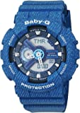 Casio Baby-G – Damen-Armbanduhr mit Analog/Digital-Display und Resin-Armband – BA-110DC