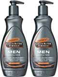 Palmer's Cocoa Butter Formula Men Body & Face Moisturizer 13.5 oz ( Pack of 2)