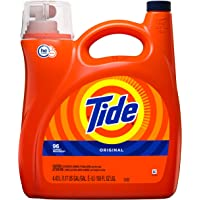 Tide HE Turbo Clean Liquid Laundry Detergent, Original Scent, 4.43L