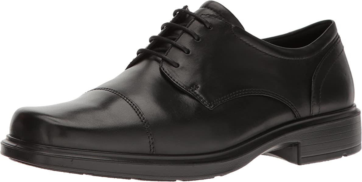 6962bbe5e7 Men's Helsinki Cap Toe Oxford, Black, 40 EU/6-6.5 M US