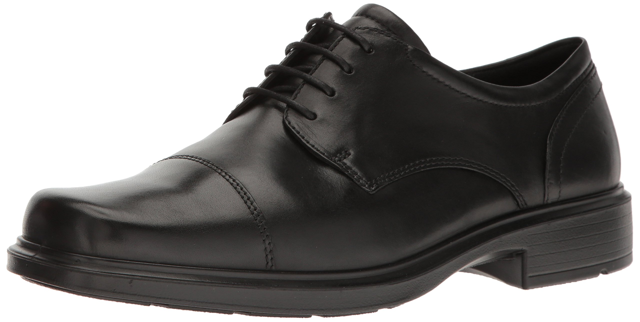 ECCO Men's Helsinki Cap Toe 39 EU/5-5.5 M Oxford, Black, 44 EU/10-10.5 M US
