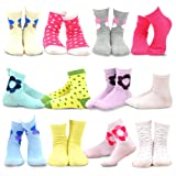 Amazon Price History for:Naartjie Kids Girls Cotton Basic Crew Socks 12 Pair Pack