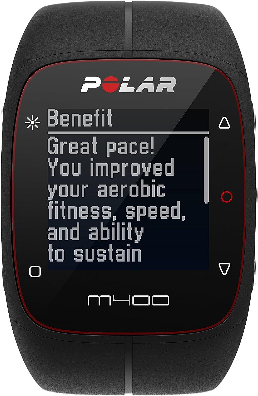 Polar M430 Reloj de Running con GPS y Frecuencia cardíaca en la muñeca - Multideporte