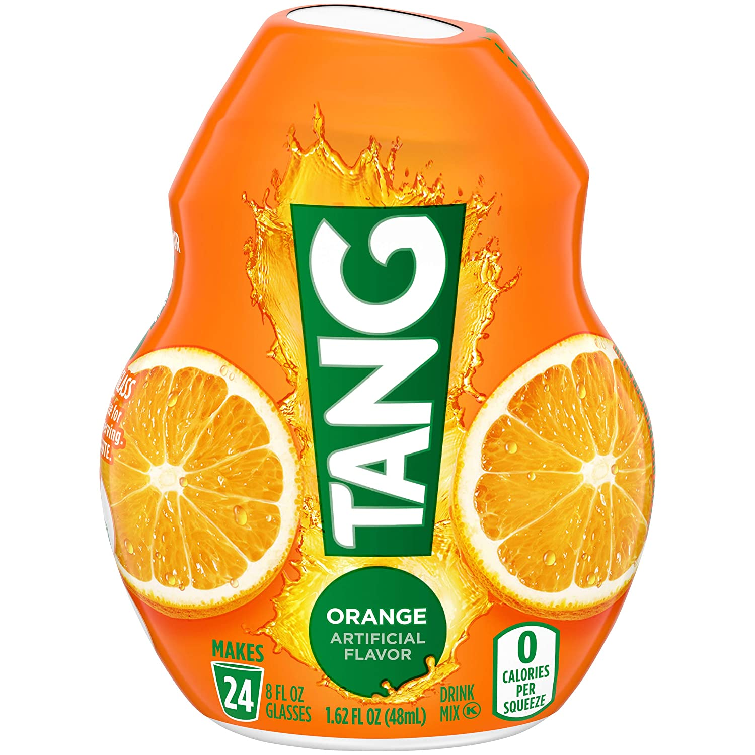 Tang Orange Liquid Concentrate Drink Mix with Vitamin C (1.62 fl oz Bottle)