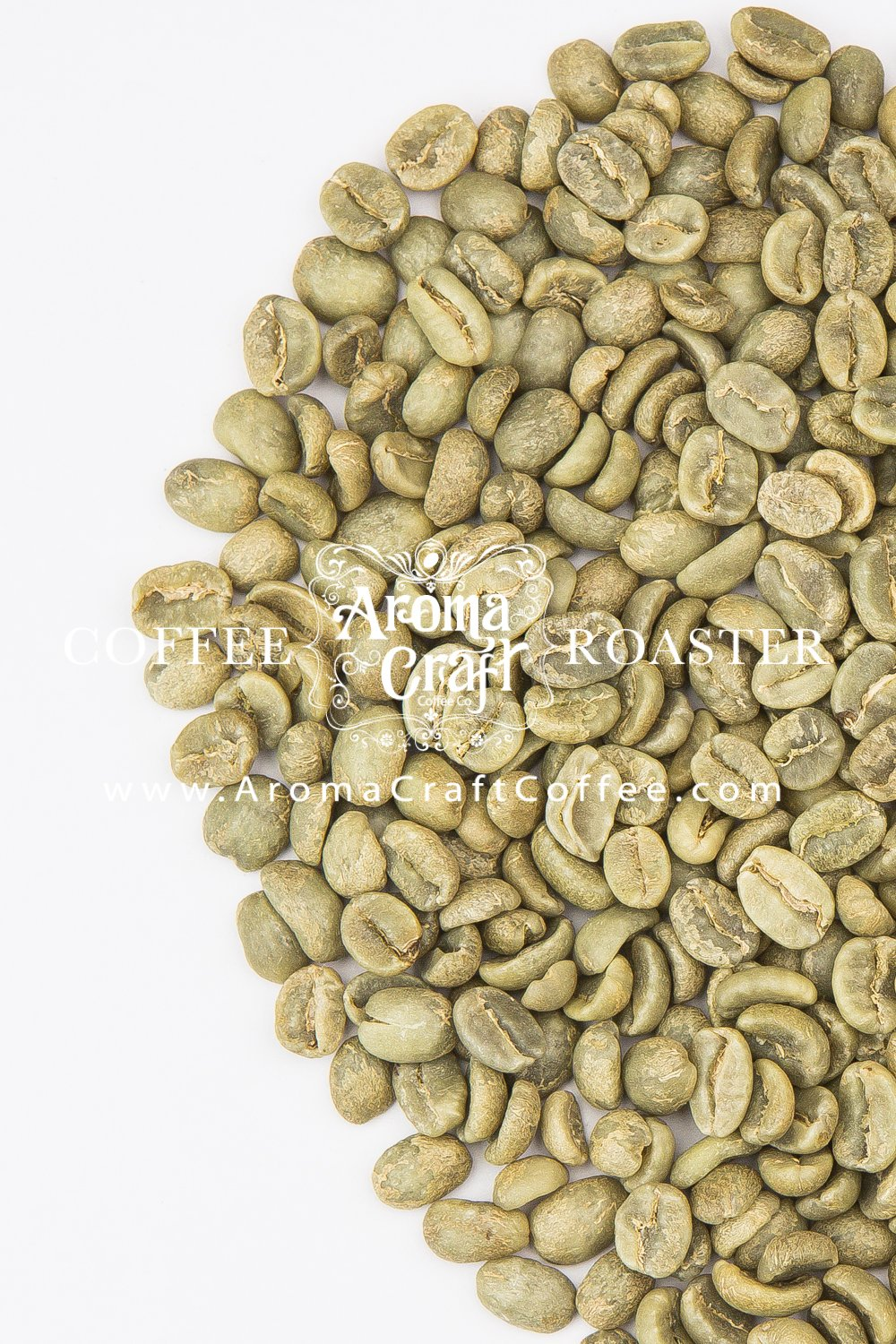Organic Guatemala Triple Picked Unroasted Green Coffee Beans (10 LB) by Aroma Craft Coffee