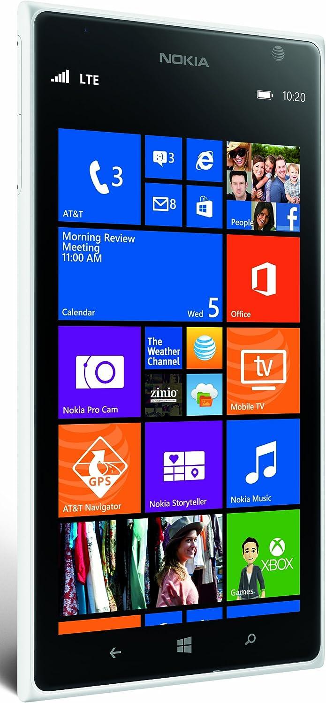 Nokia 1520 AT&T Blanco 4G LTE Libre: Amazon.es: Electrónica