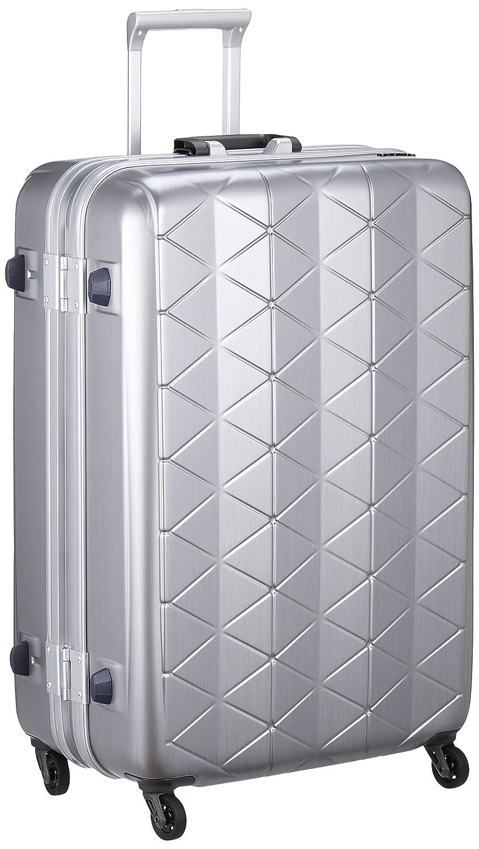 [サンコー] SUPERLIGHTS MGC スーツケース スーパーライト 軽量 大型 抗菌ハンドル マグネシウムフレーム 容量93L 縦サイズ74cm 重量4.2kg MGC1-69 B0776V4M9S エンボスヘアラインシルバー エンボスヘアラインシルバー