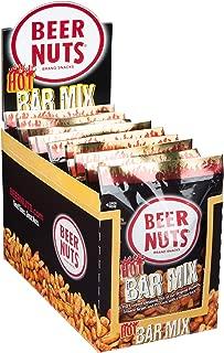 product image for BEER NUTS Hot Bar Mix - 12-Count 2oz Single Serve Bags, Spicy Sesame Sticks, Original Peanuts, Pretzel Balls, Nacho Corn Sticks