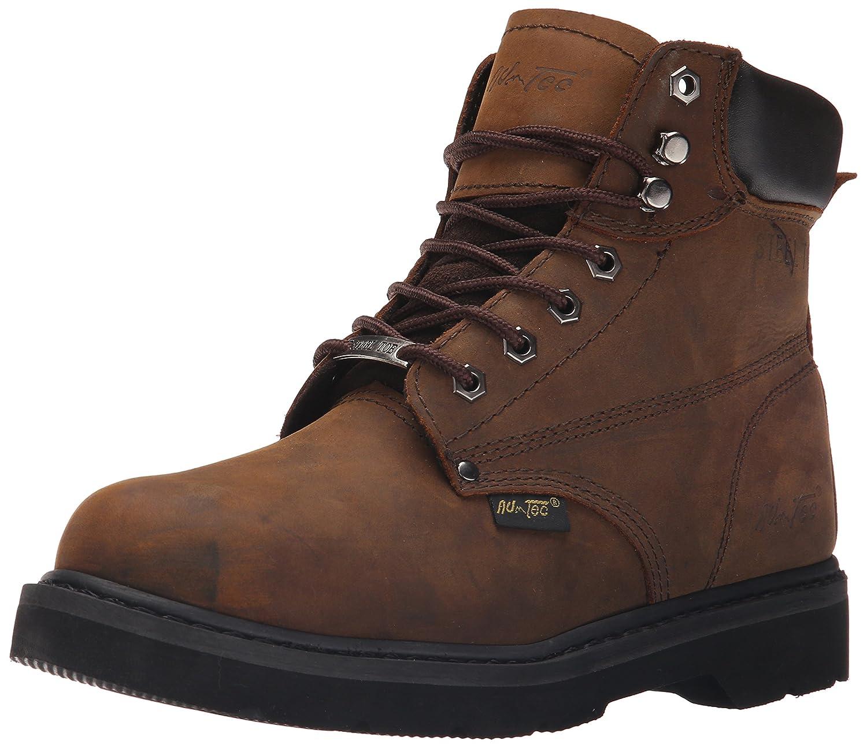 AdTec Men's 6 Inch Steel Toe 1981 Work Boot, Brown, 14 M US  B00OUHWGYC
