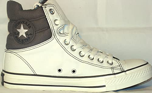 18bc5bfd7a0a Converse Chuck Taylor All Star Padded Collar HI-Top White Grey Size 7 9   Amazon.ca  Shoes   Handbags