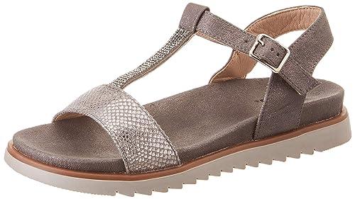 542b497d8c3 XTI 49061, Sandalias con Punta Abierta para Mujer: Amazon.es: Zapatos y  complementos