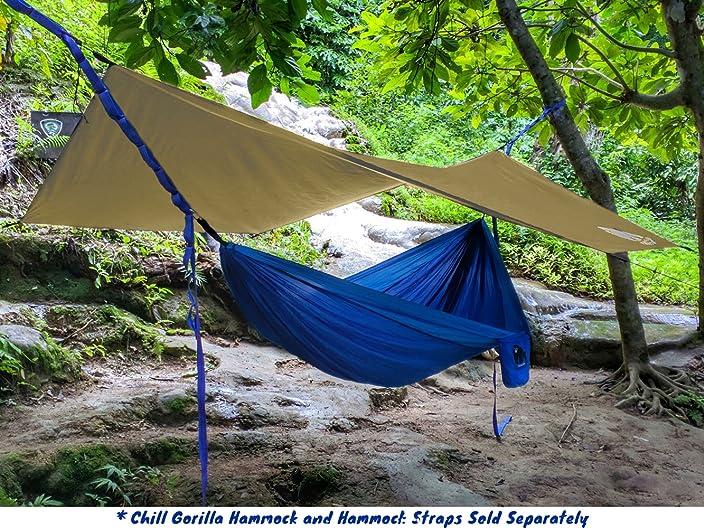 CHILL GORILLA HEX HAMMOCK RAIN FLY TENT TARP Waterproof C&ing Shelter & Drip Lines for Hammock Suspension - Camping u0026 Outdoors Blog
