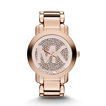 f1a121ccbf8e Image Unavailable. Image not available for. Color  Michael Kors Rose Gold  ...