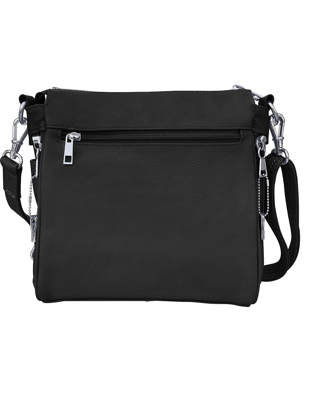 fab267d7d9db Roma Leathers Gun concealment Square Shoulder Bag - Detachable Strap ...