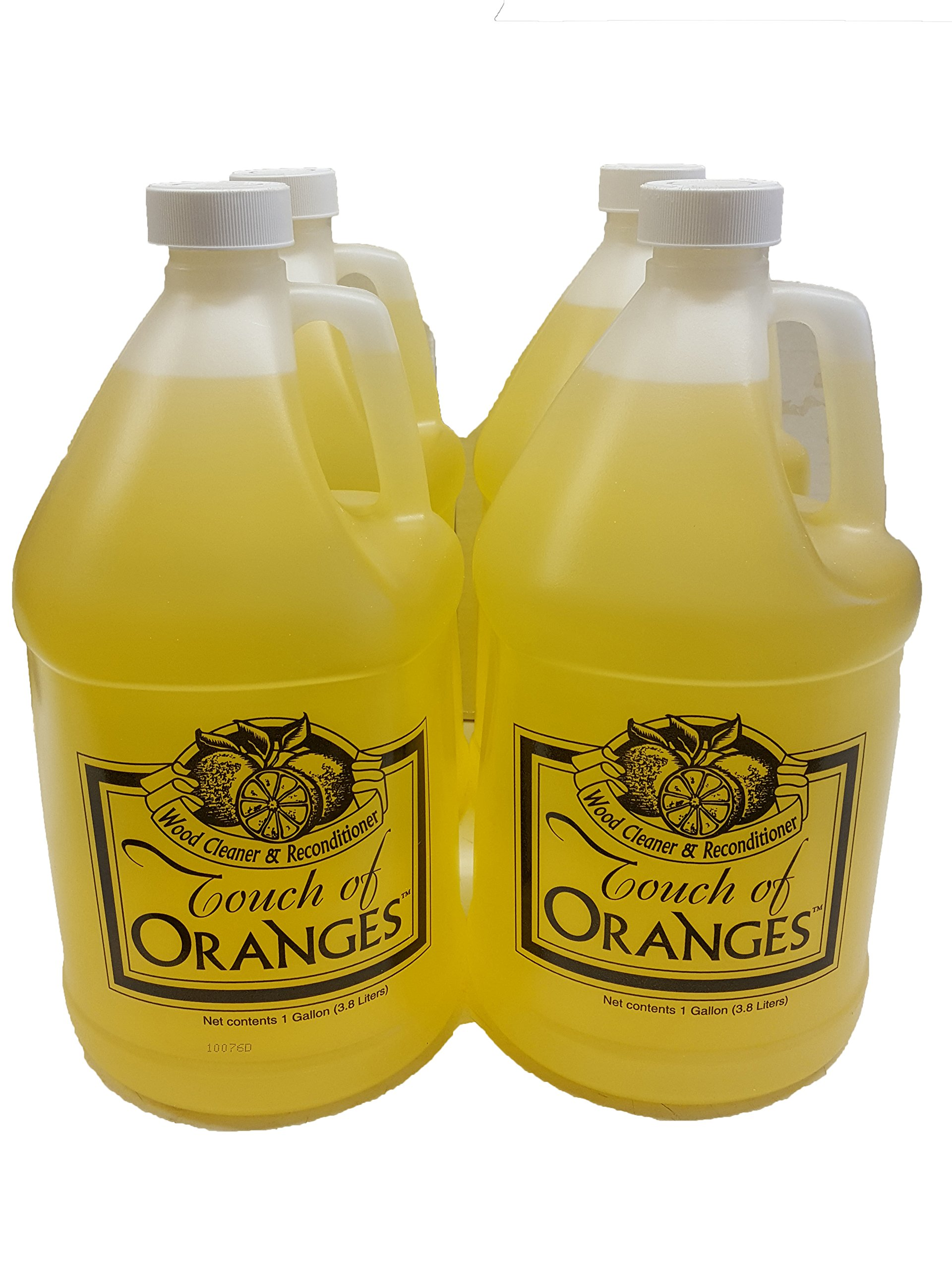 Clean Kitchen Cabinets Wood Cleaner Orange Wood Cleaner- 4 Gallon Case