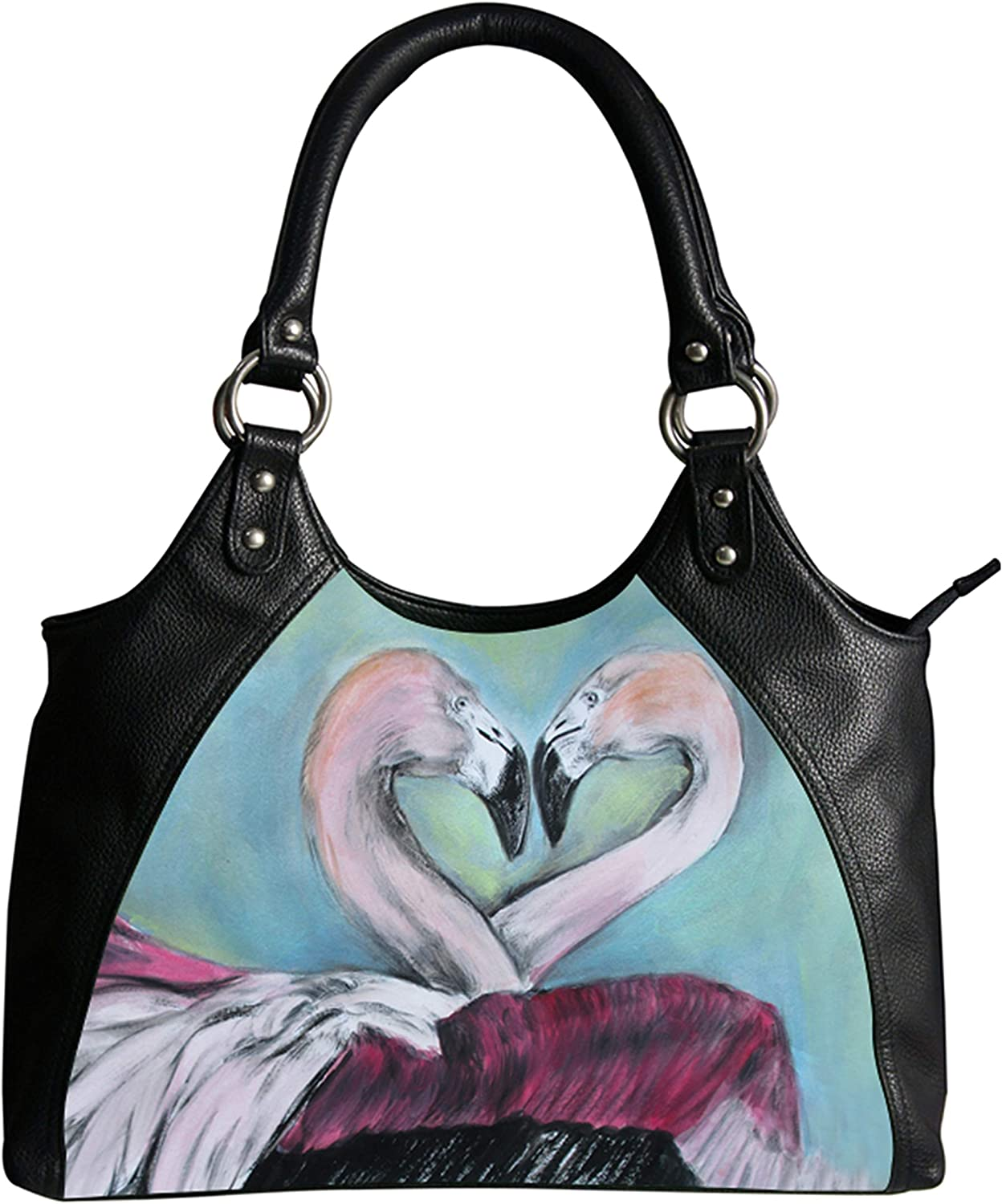 Vegan Leather Retro Style Shoulder Bag – Taken From My Original Oil Painting, Support Wildlife Conservation