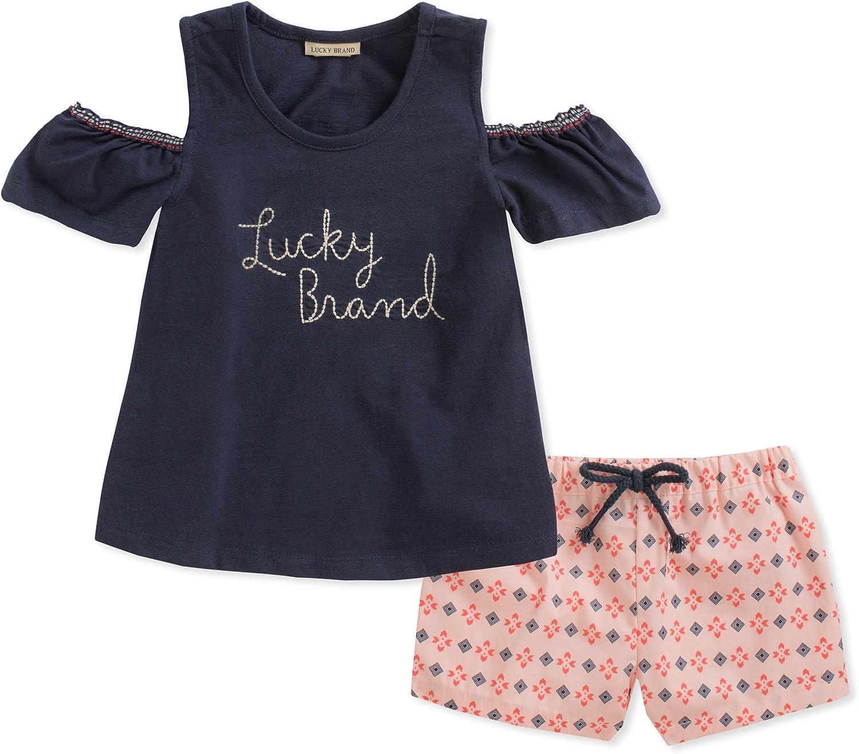 Lucky Brand Girls Shorts Set