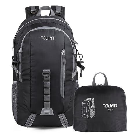 Hiking Backpack Daypack Waterproof Durable Packable Lightweight Travel Case 35L