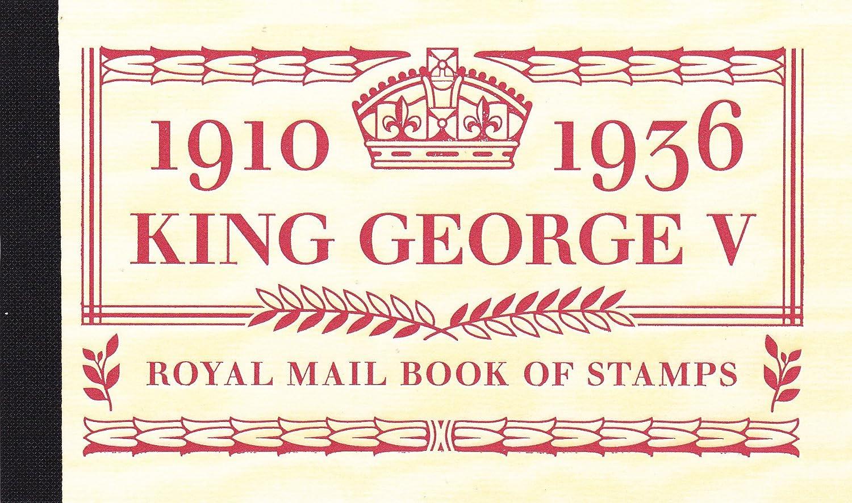 King George V Prestige - Libreta con sello sello con b4c8d3