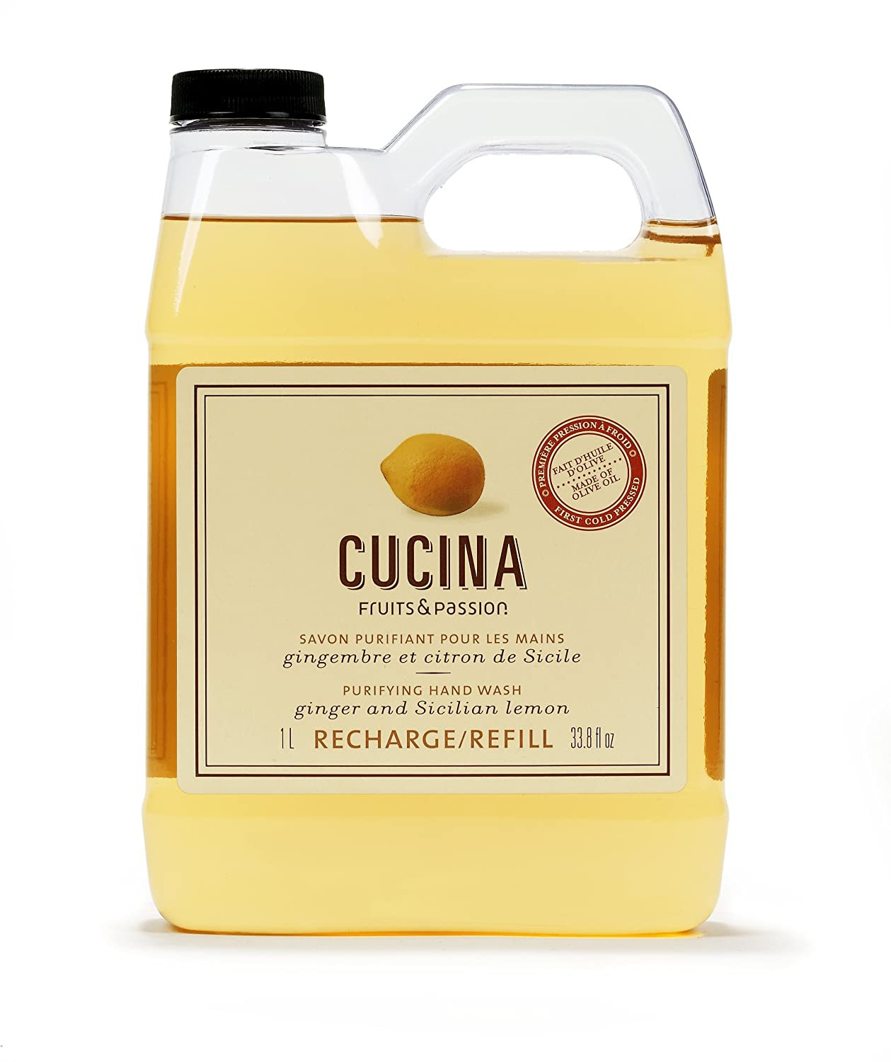 Fruits & Passion Cucina Purifying Hand Wash Refill - 33.8 Fl. Oz ...
