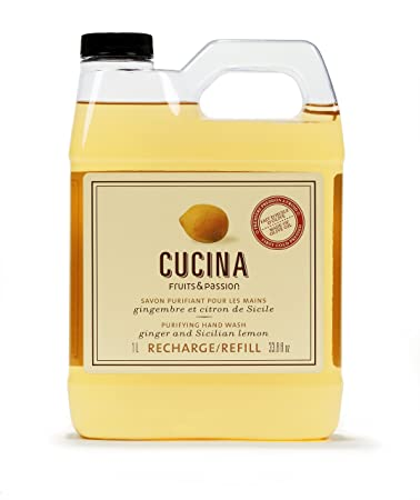 Amazon.com: CUCINA Purifying Hand Wash Refill - 33.8 fl. oz ...