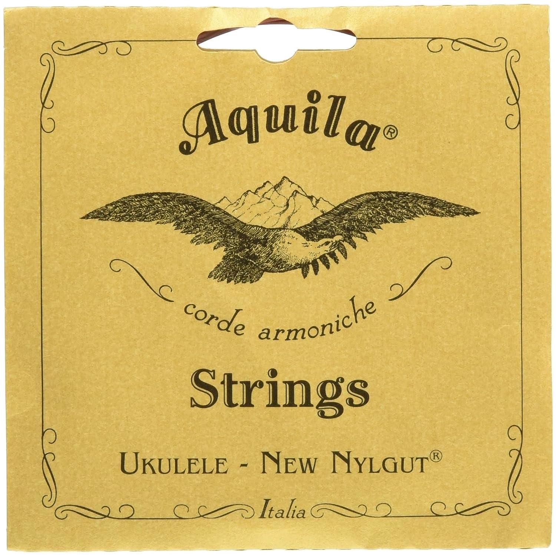 Aquila 19U Aquila Tenor-Ukulele-8string-Satz 19U, New Nylgut, DdGgbbee Stimmung DGBE, Saitenlänge 76 cm Saitenlänge 76 cm