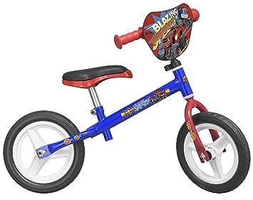 Toimsa - Bicicleta sin pedales para niños bajo licencia Blaze y el Monster Machines 10 pulgada (de 2 a 3 años, 124u: Amazon.es: Juguetes y juegos
