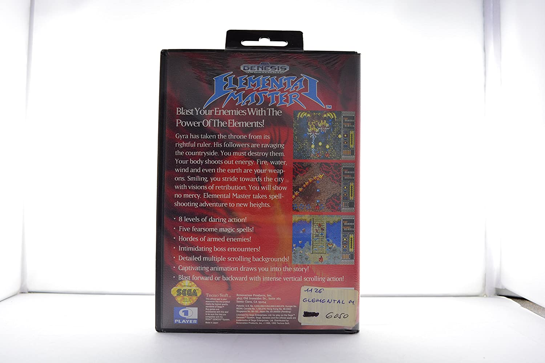 Amazon com: Elemental Master - Sega Genesis: Video Games