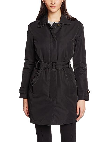 Geox Woman Jacket, Chaqueta para Mujer, Negro F9000, ES 46 (Talla de