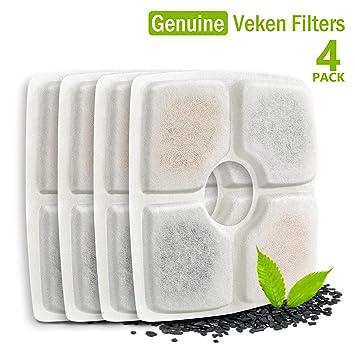 Amazon.com: Veken - Fuente para mascotas, 84oz/2.5 L ...