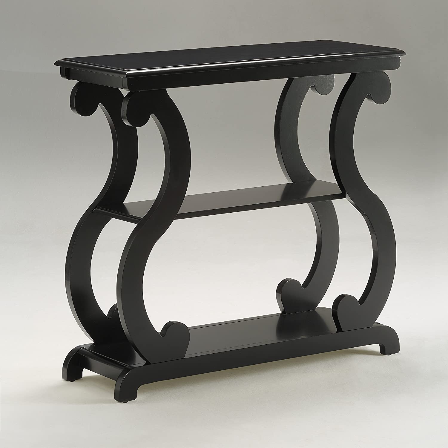 Crown Mark Lucy Table Black, Console