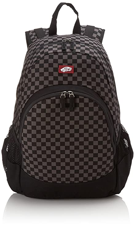 ece5b87f0e Vans Van Doren Backpack - Black/Charcoal, Medium: Vans: Amazon.co.uk:  Luggage