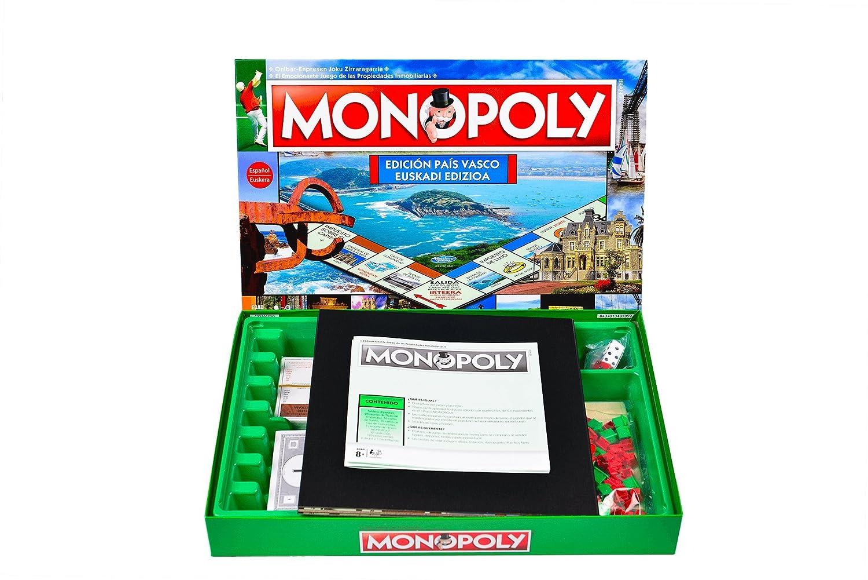 Monopoly Pais Vasco: Amazon.es: Juguetes y juegos
