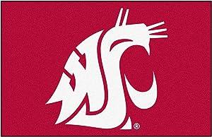 FANMATS NCAA Washington State University Cougars Nylon Face Starter Rug