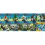 Lego - Legends of Chima (Hörspiel 01 - 10) im Set - Deutsche Originalware [10 CDs]