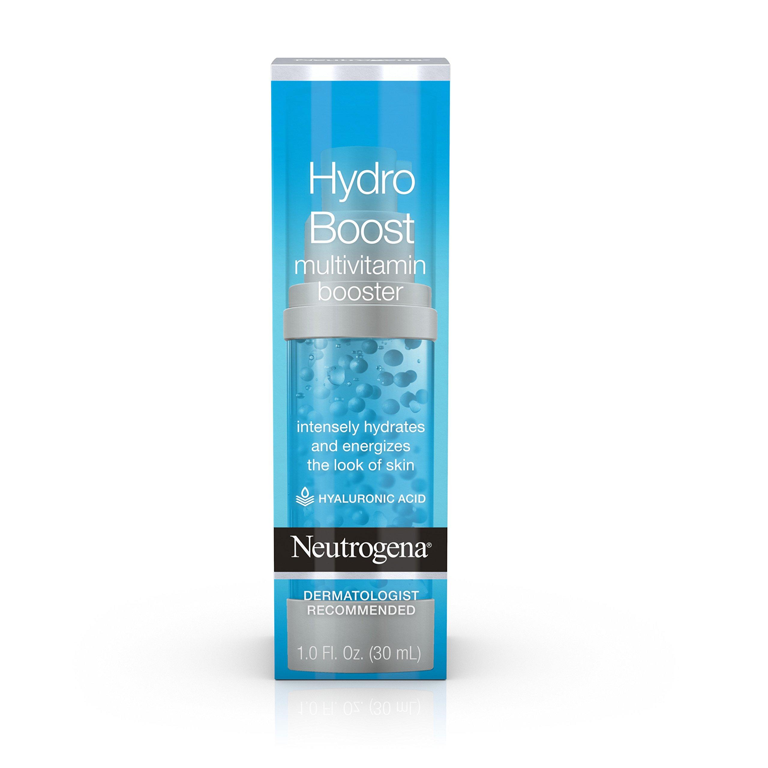 Neutrogena Hydro Boost Multivitamin Hydrating and Revitalizing Face Serum, 1 Ounce