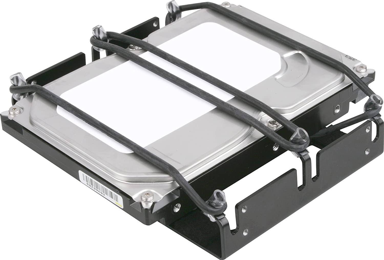 Sharkoon HDD-Vibe-Fixer - Marco para instalación de Discos Duros de 5,25