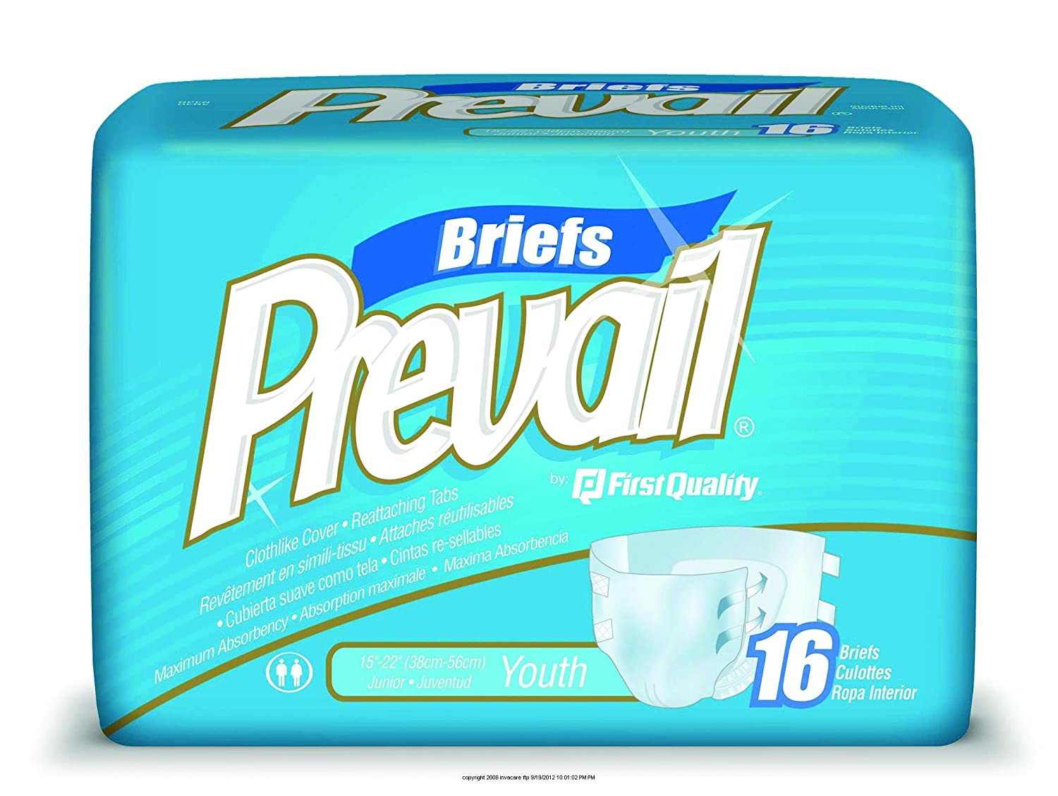 Amazon.com : Prevail Specialty Briefs [PREVAIL YOUTH BRIEF] : Incontinence Protective Underwear : Beauty