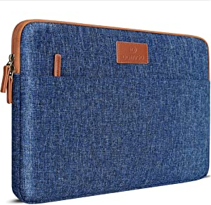 DOMISO 14 inch Laptop Sleeve Case Water-Resistant Carrying Bag for 14
