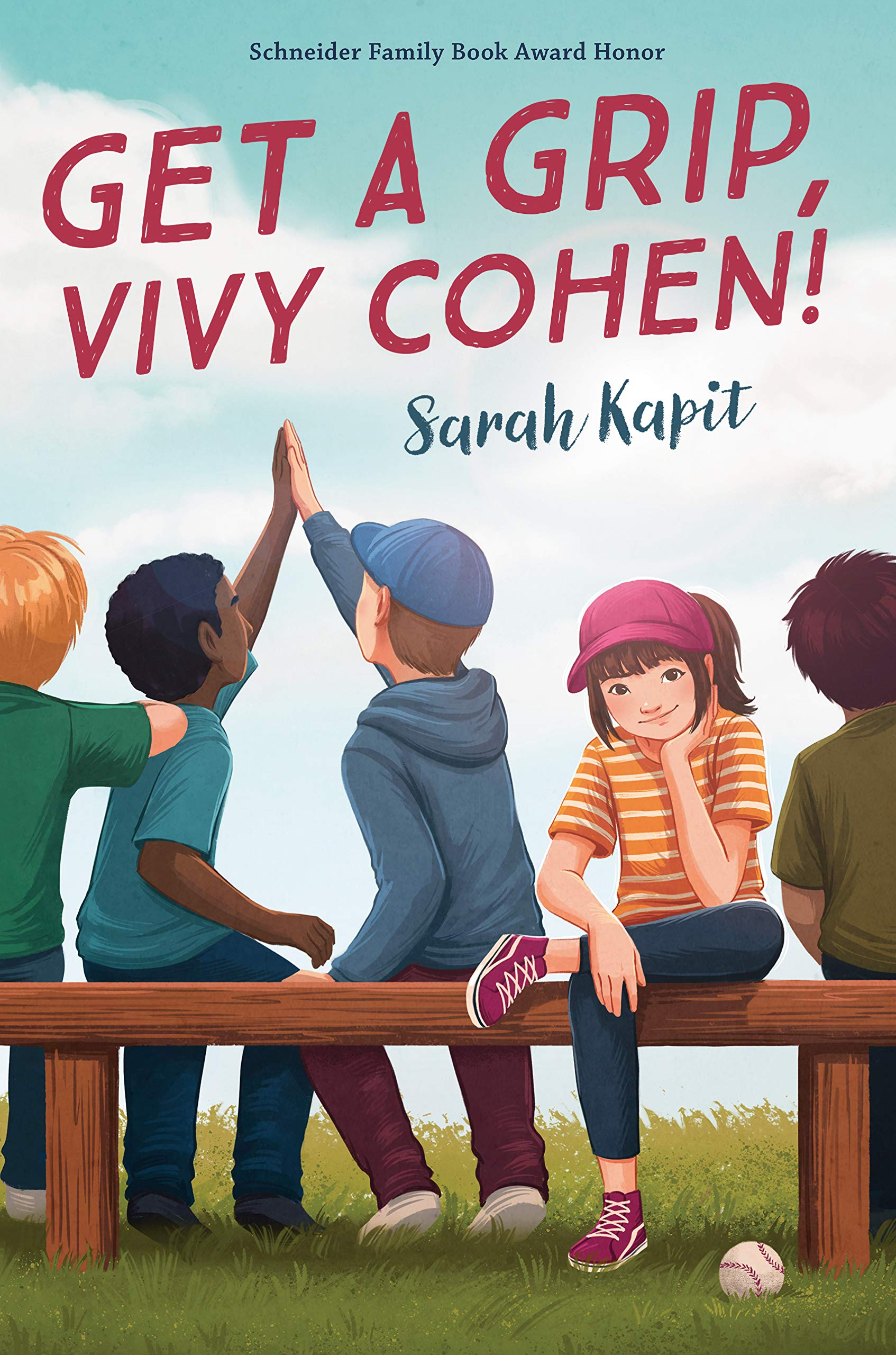 Get a Grip, Vivy Cohen!: Kapit, Sarah: 9780525554189: Amazon.com: Books