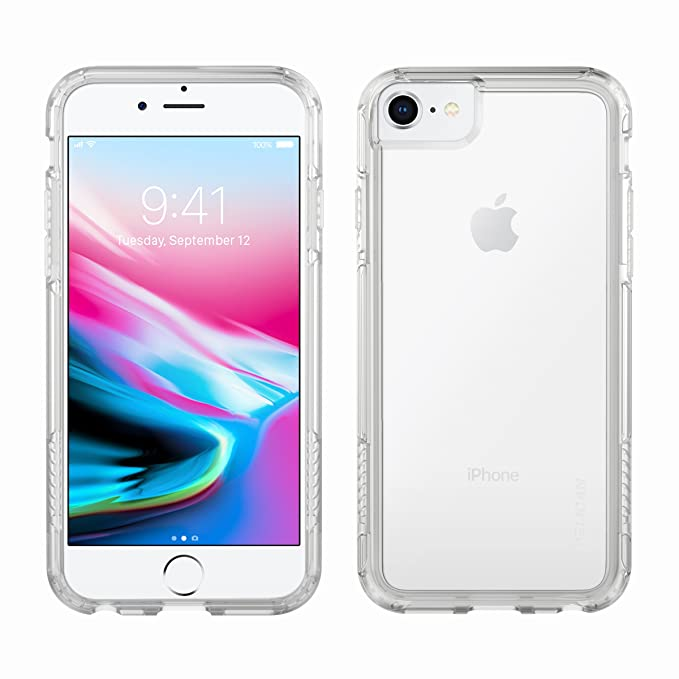 differently 185f8 20600 iPhone 8 Case | Pelican Adventurer Case - fits iPhone 6/6s/7/8 (Clear)
