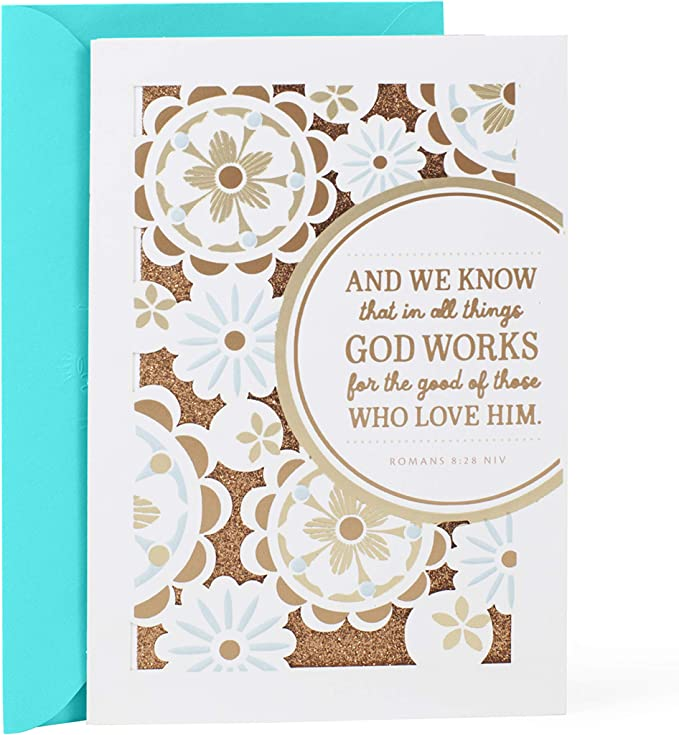 THINKING OF YOU Raccoon Fox Flowers RELIGIOUS Prayer for You Greeting Card NEW