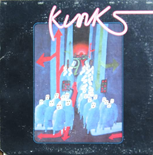 The Great Lost Kinks Album LP Amazoncouk Music
